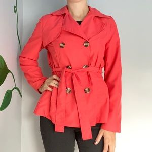 3/20$ UK2LA Coral peacoat jacket